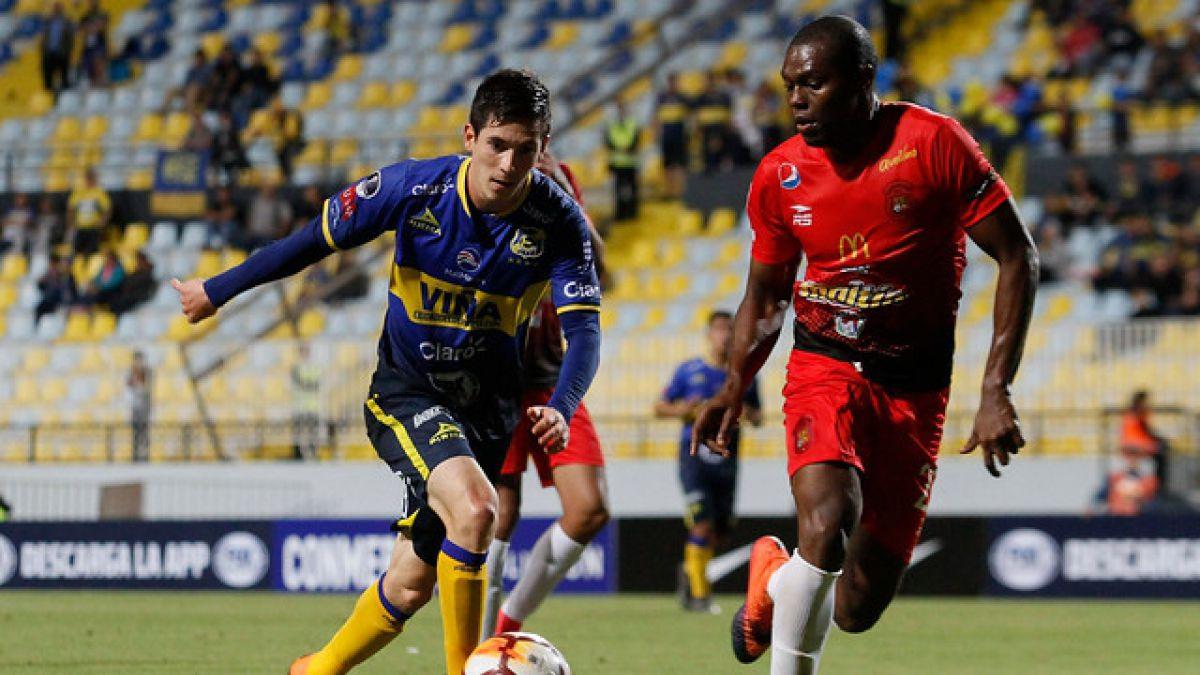 Caracas pasa sufriendo a la segunda fase de la Sudamericana