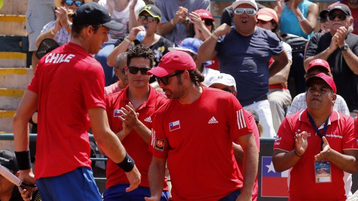 Equipo chileno ya conoce a su próximo rival en el repechaje de la Copa Davis