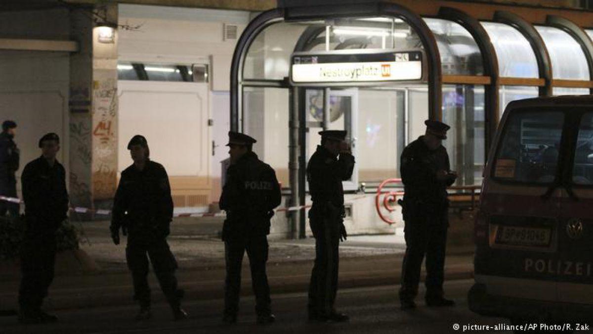 Atacante con cuchillo hiere a tres personas en Viena