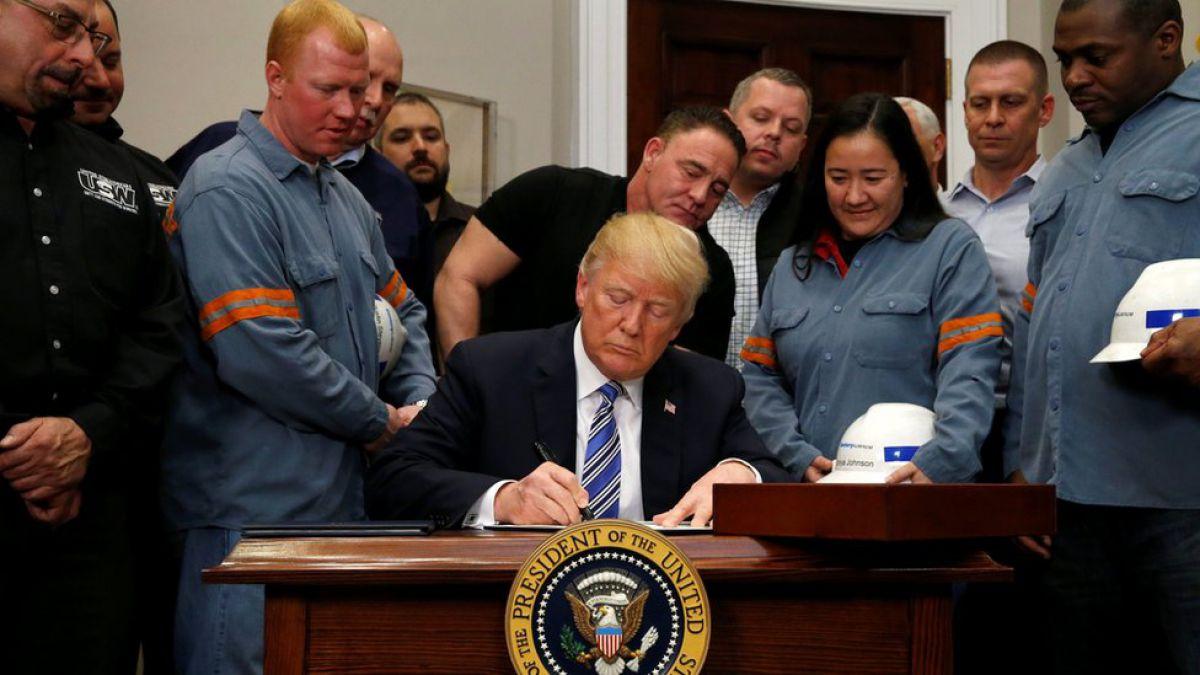 EEUU: en qué consisten y a quién afectan los aranceles al acero y al aluminio aprobados por Trump
