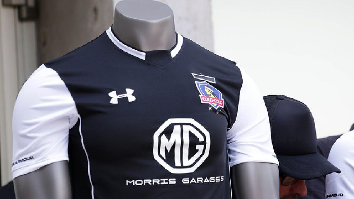 Colo Colo suma a nuevo auspiciador en su camiseta