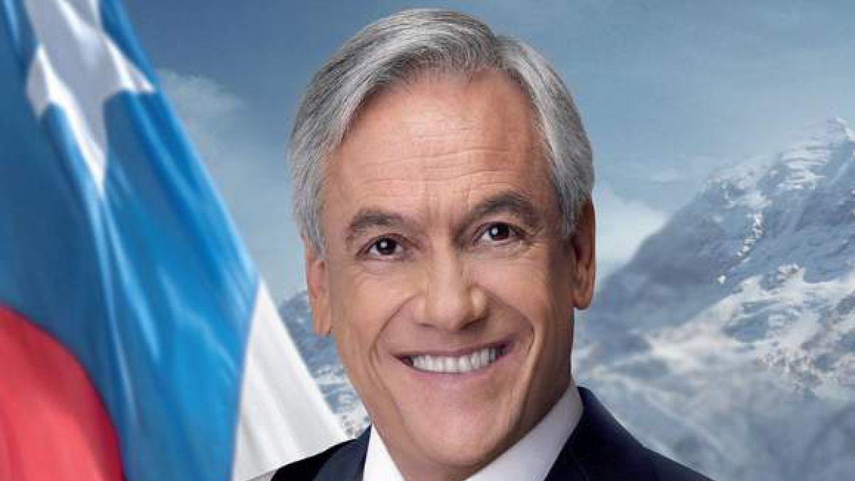 Piñera 2010 y Piñera 2018: el antes y después de la foto oficial