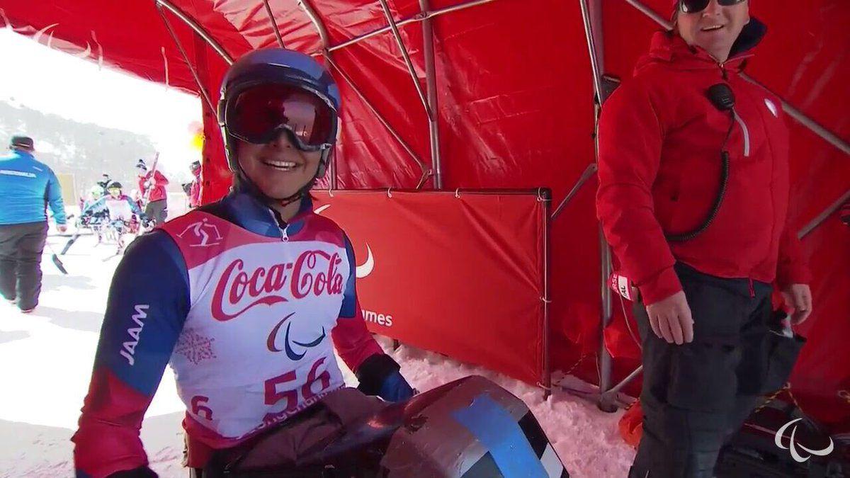 Chileno Nicolás Bisquertt debuta con gran actuación en Juegos Paralímpicos de Invierno