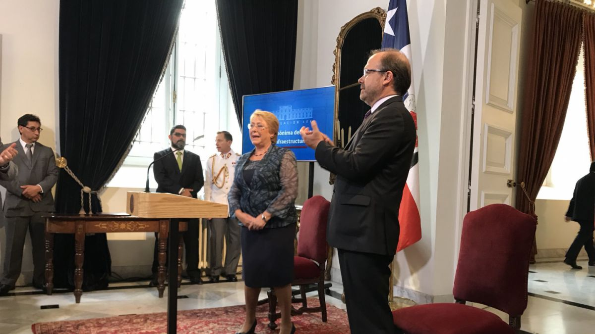 Bachelet promulga el Fondo de Intraestructura, su última ley
