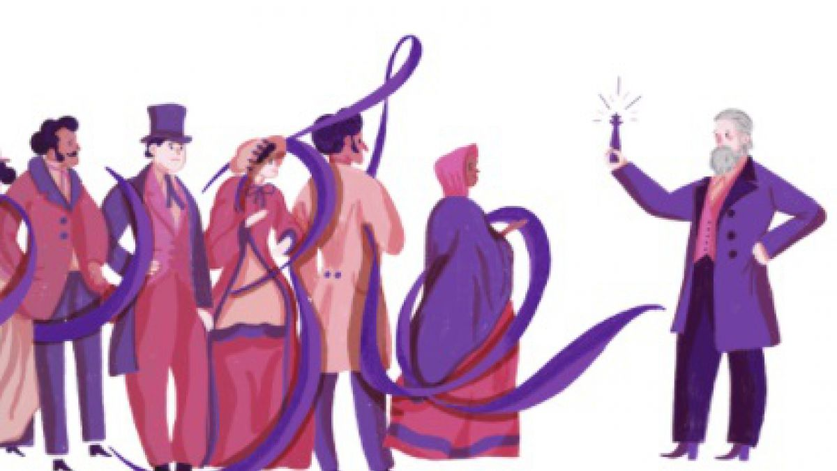 Google homenajea al químico británico Sir William Henry Perkin