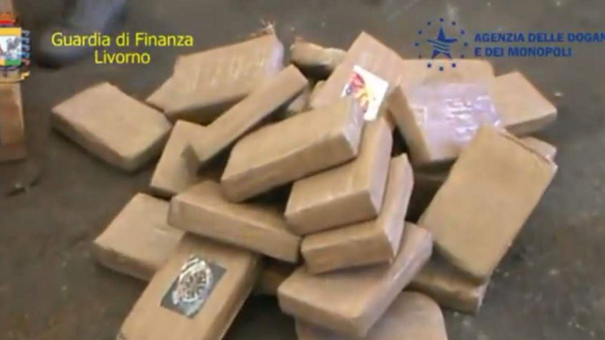 Italian: Decomisan 43 millones de euros en cocaína chilena