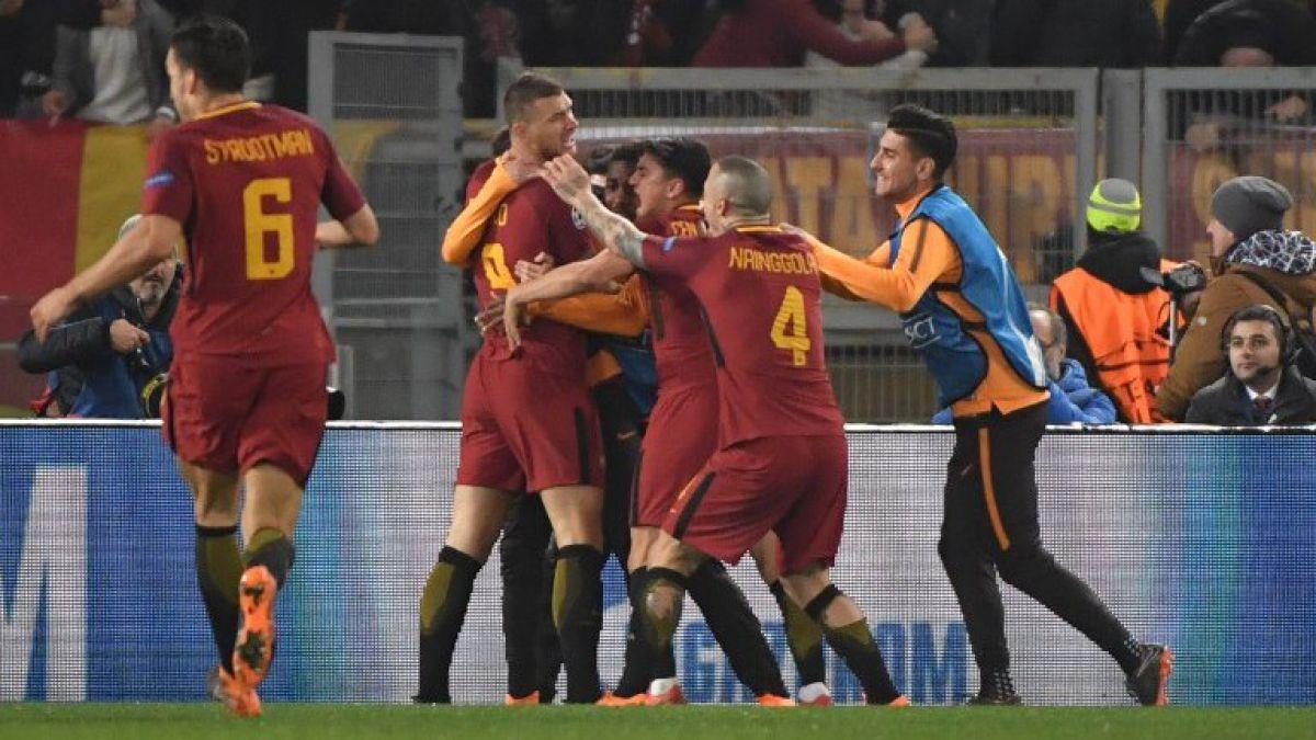 Roma supera en casa al Shakhtar y se mete en cuartos de final de la Champions