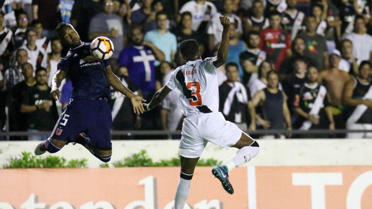 [Minuto a Minuto] La U venció a Vasco da Gama en su debut por la Libertadores