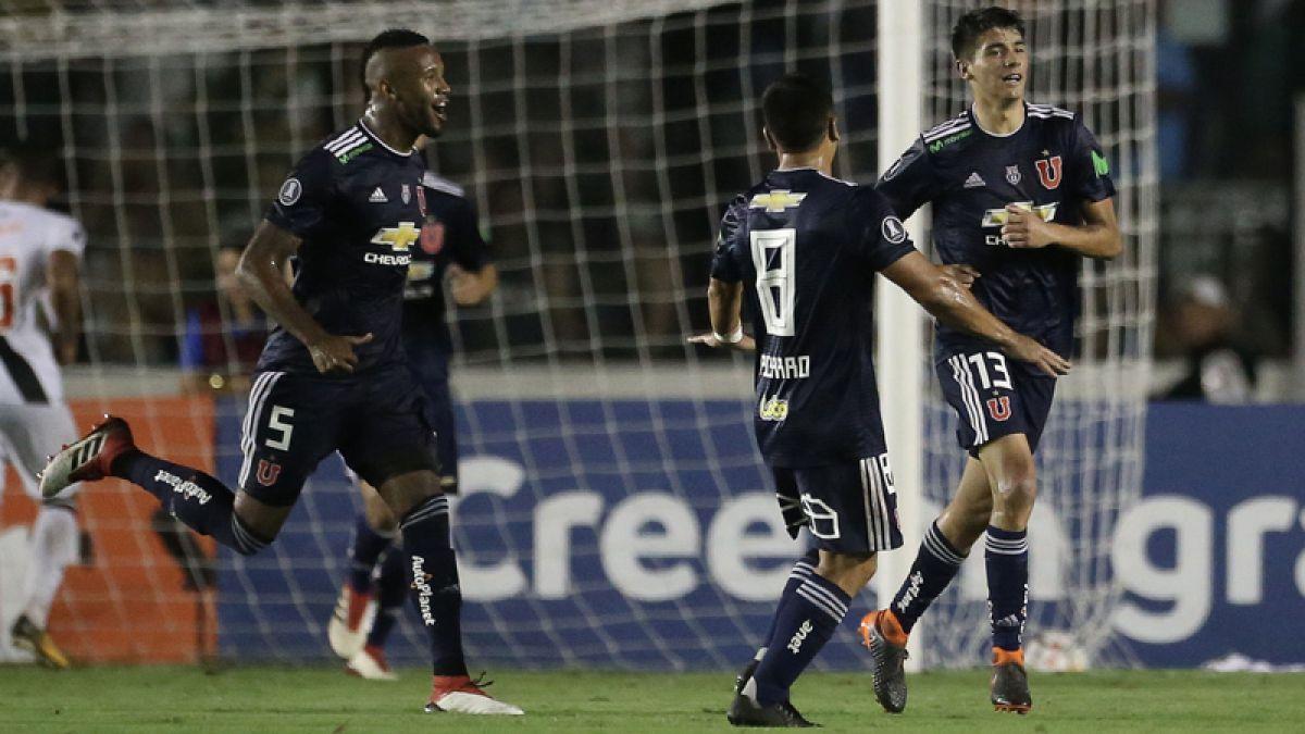 """Araos encantando con su debut goleador en la Libertadores: """"Desde chico soñé esto"""""""
