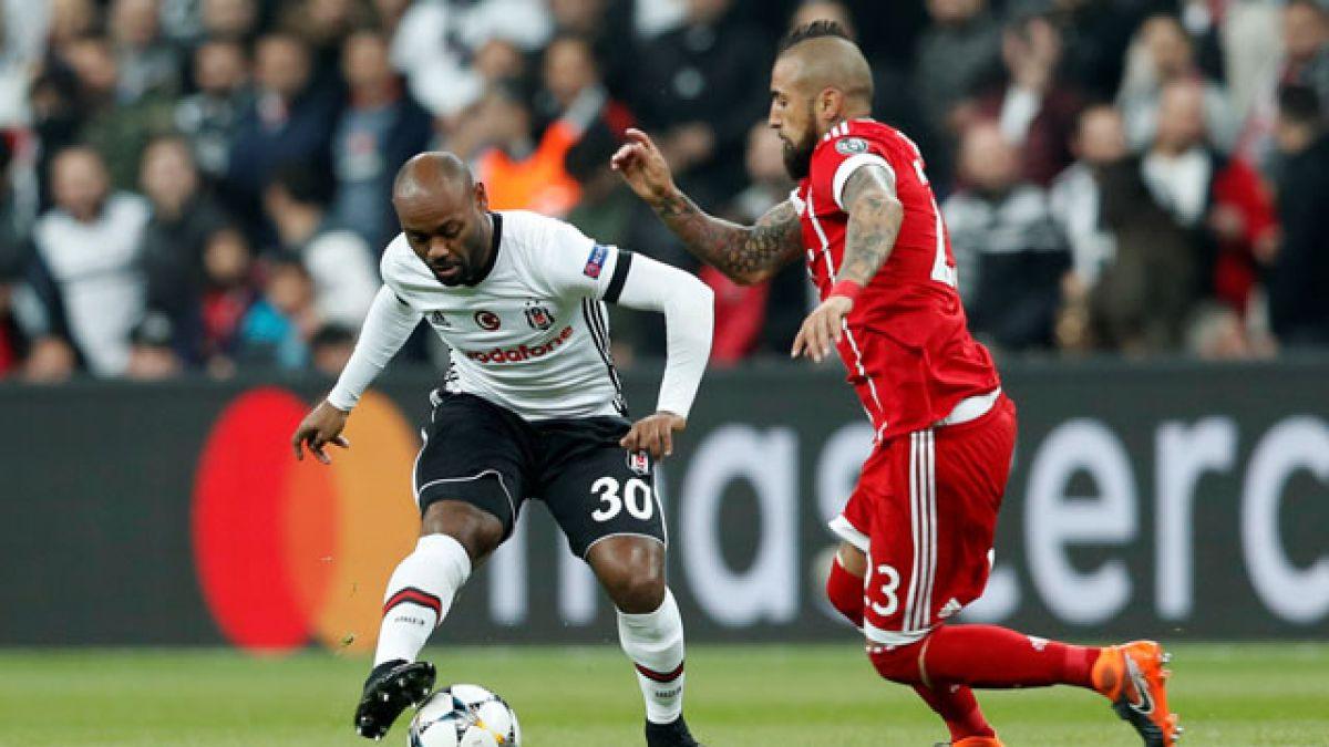 [Minuto a Minuto] Bayern Munich de Vidal está venciendo al Besiktas de Medel