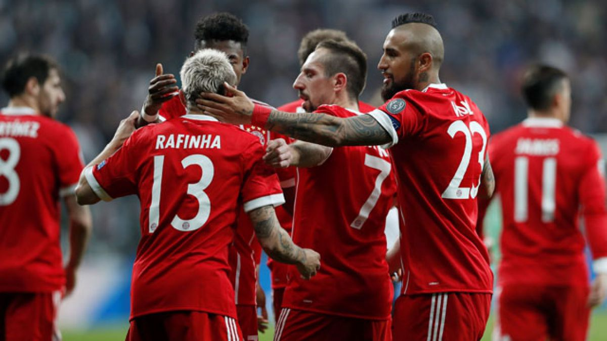 Bayern Munich de Arturo Vidal se instala en los cuartos de final de la Champions League