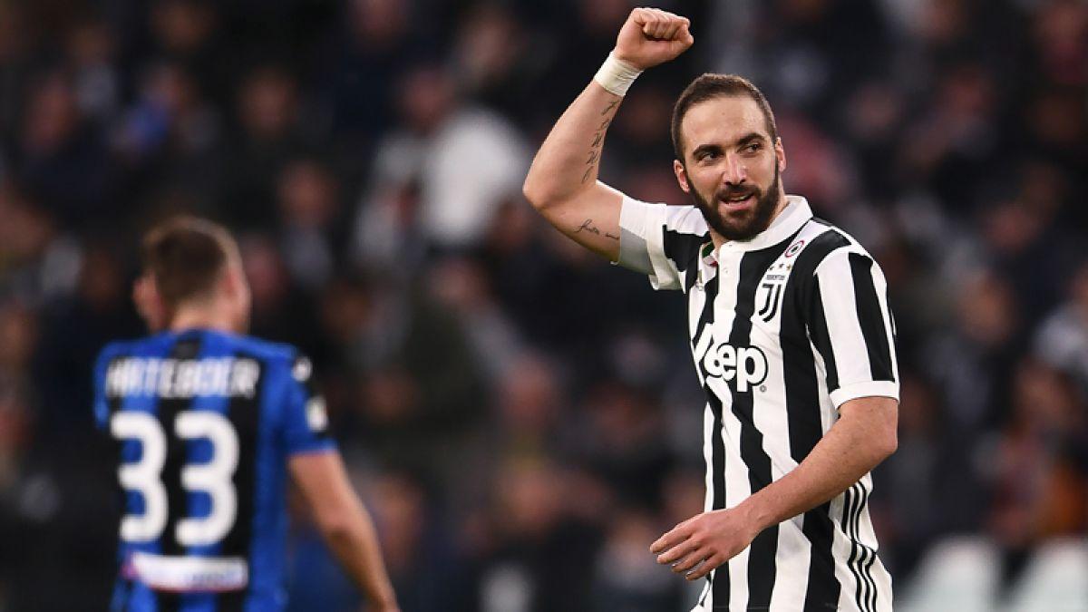 Higuaín metió gol y asistencia para estirar la ventaja de Juventus