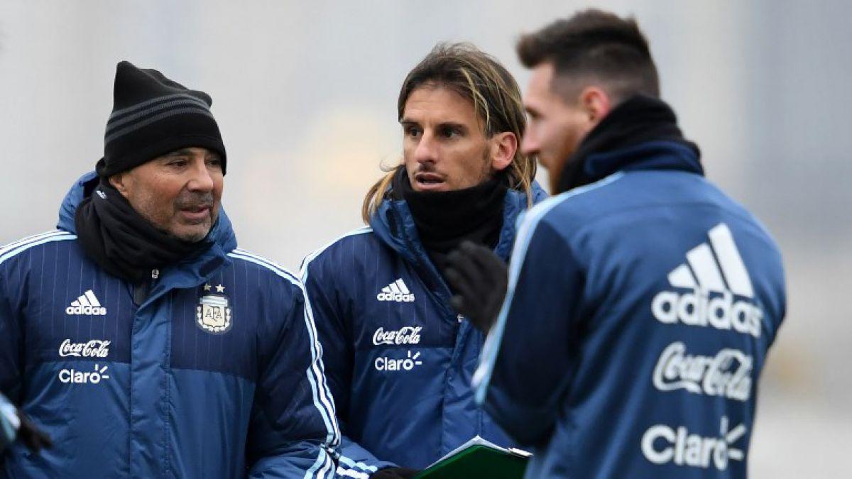 Resultado de imagen para sampaoli entrenando argentina