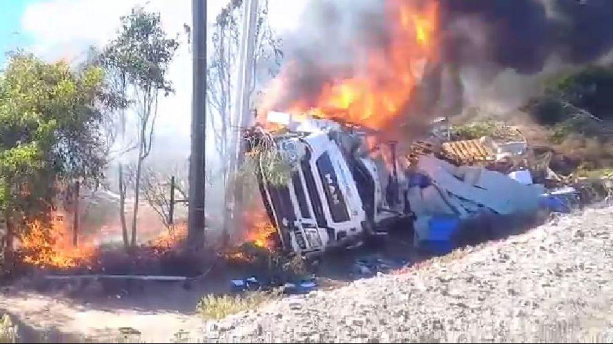 [VIDEO] Accidente en la Ruta 5 Norte termina con un muerto y dos heridos
