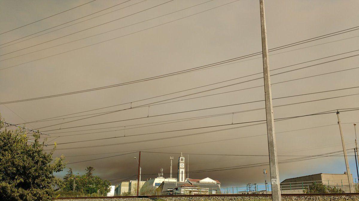 Incendio forestal en Quilpué ha consumido cerca de 180 hectáreas