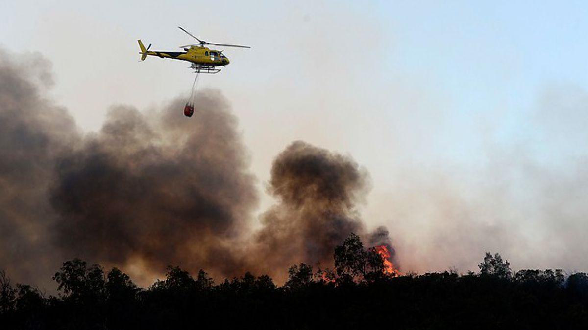 Onemi declara alerta roja para Quilpué y Santo Domingo por incendios forestales