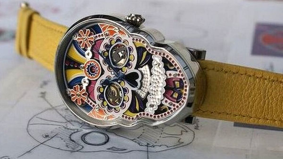 82dcba36e0d7 Cómo México inspiró a Fiona Krüger a fabricar relojes de lujo con forma de  calavera