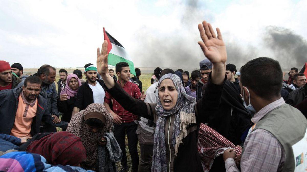Internacional| Israel mató a muchos manifestantes palestinos