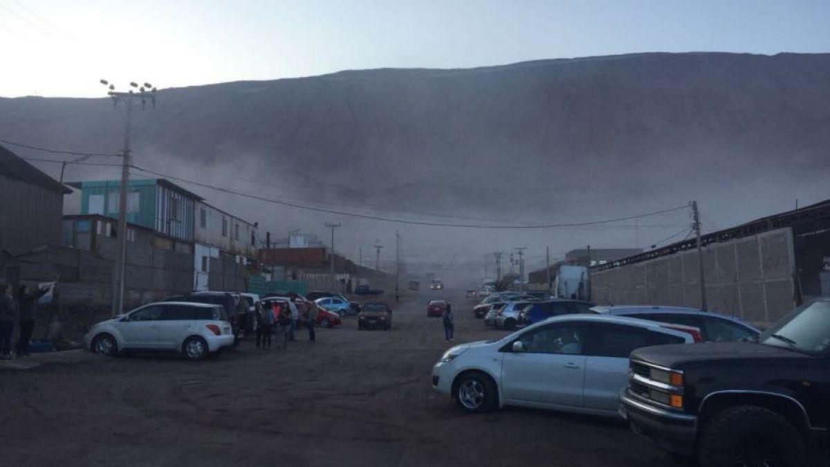 Fuerte sismo afectó a las costas de Iquique