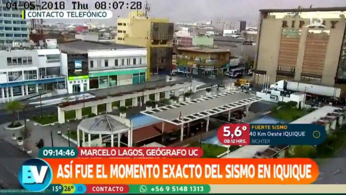 [VIDEO] Marcelo Lagos: Sismo de Iquique está dentro de los parámetros