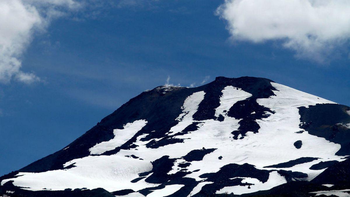 Declaran alerta naranja para el volcán Nevados de Chillán
