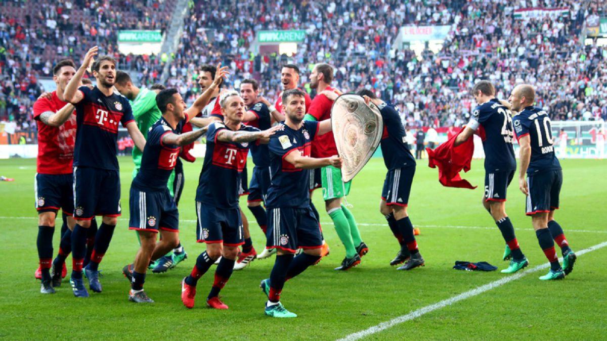 Bayern golea en el derbi de Baviera y Vidal suma su séptimo título de liga consecutivo
