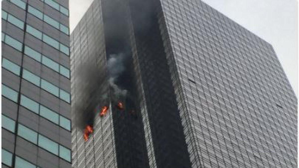 Se registró un incendio en la Torre Trump de Nueva York