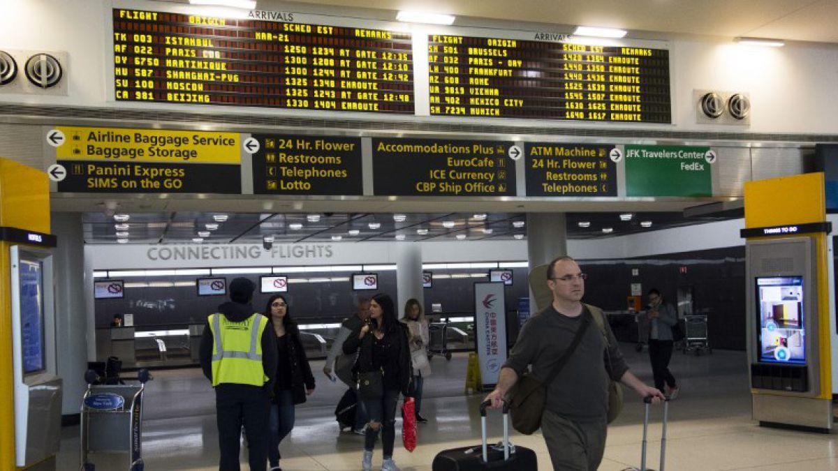 Aeropuerto JFK de Nueva York deja de estar entre 20 terminales con mayor tráfico