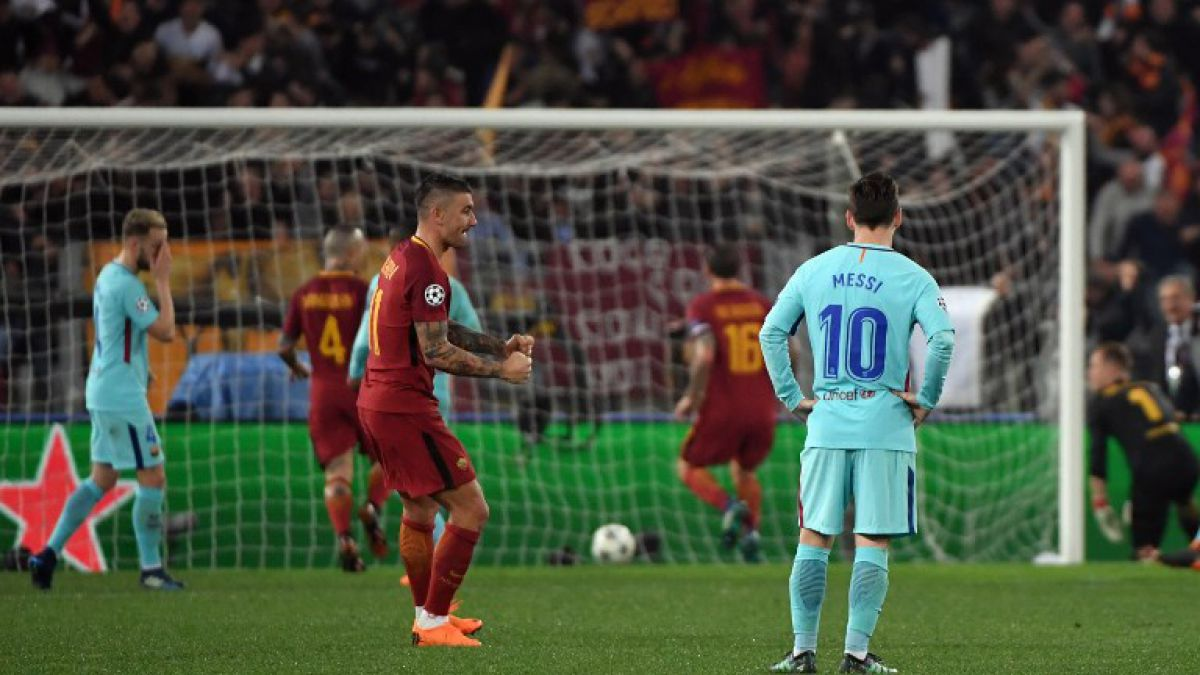Barcelona visita Roma con la mirada en semifinales de la Champions