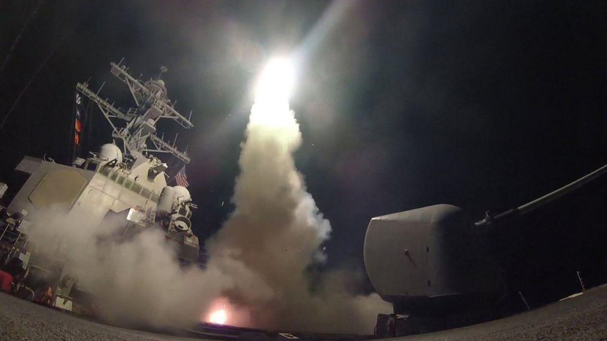 ''Misión cumplida'', el mensaje de Trump después de bombardear Siria