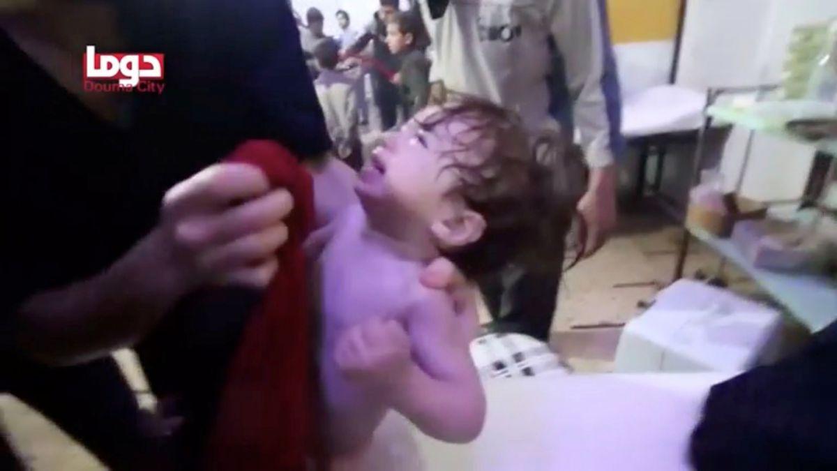 Comienzan a investigar el ataque químico en Siria