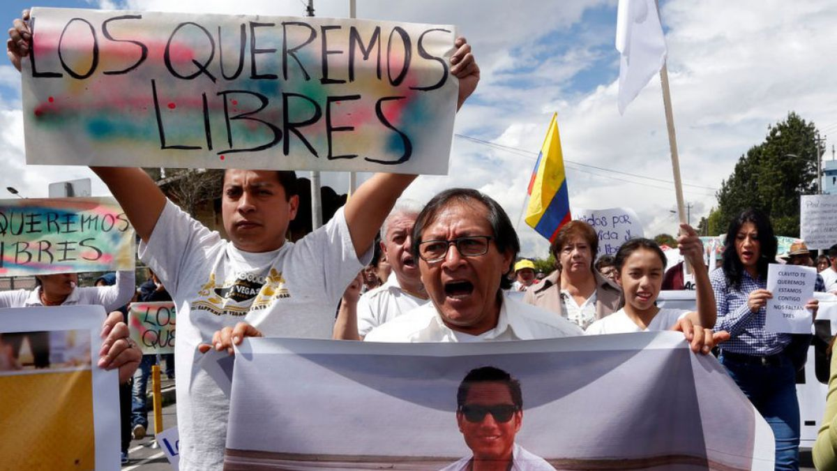Nunca nos habían matado así  la indignación en Ecuador tras la muerte del  equipo de 5b1aa6c21821d