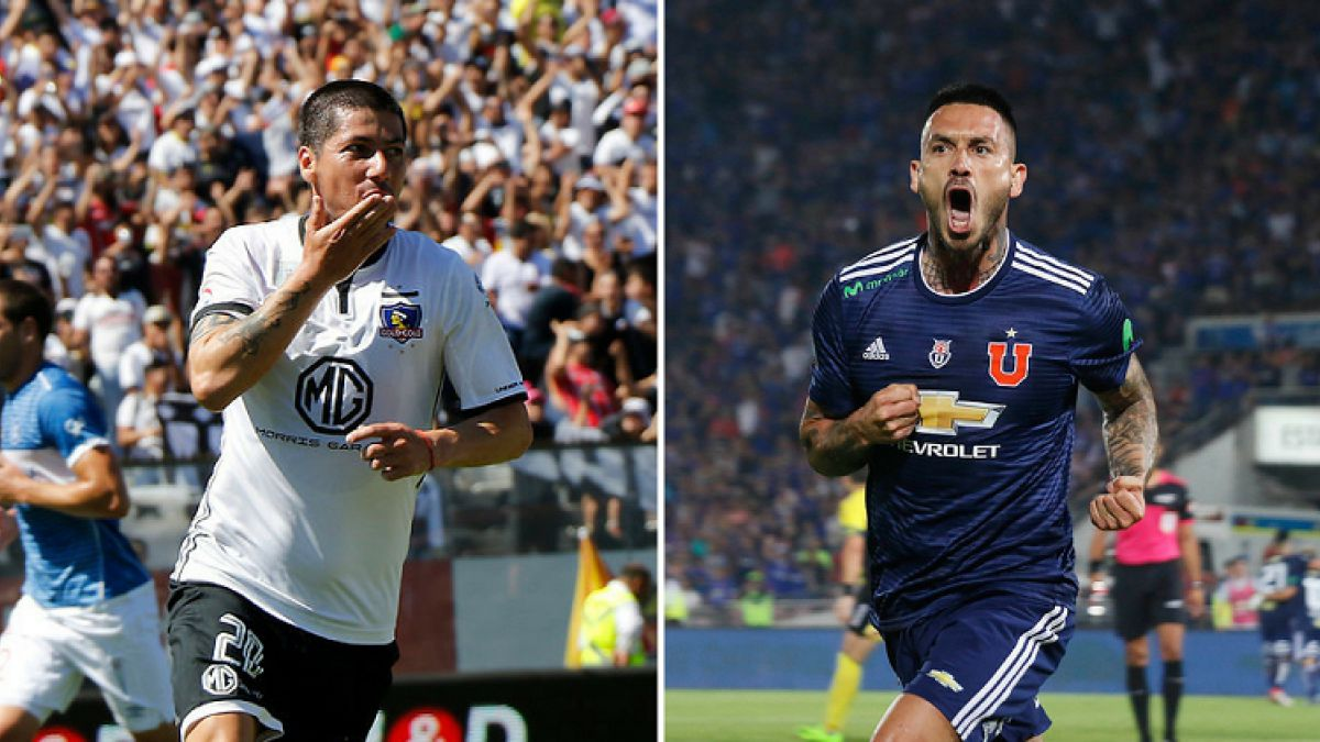 Las posibles formaciones de Universidad de Chile y Colo Colo para el Superclásico