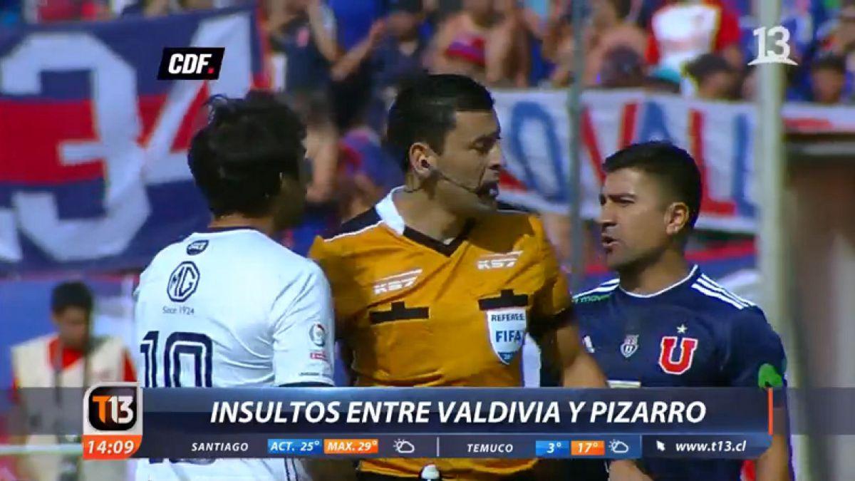 Con insultos y empujones se vivió el encontrón entre Valdivia y Pizarro