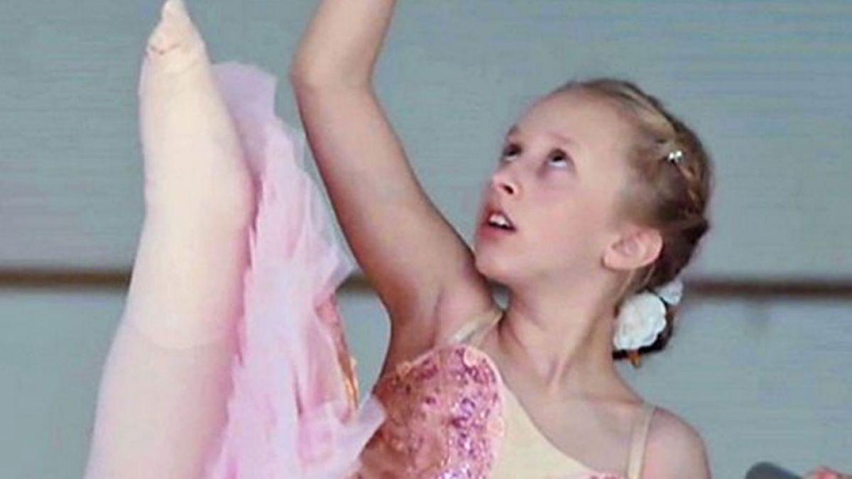 Cómo una niña que perdió una pierna a los 2 años cumplió su sueño de convertirse en bailarina