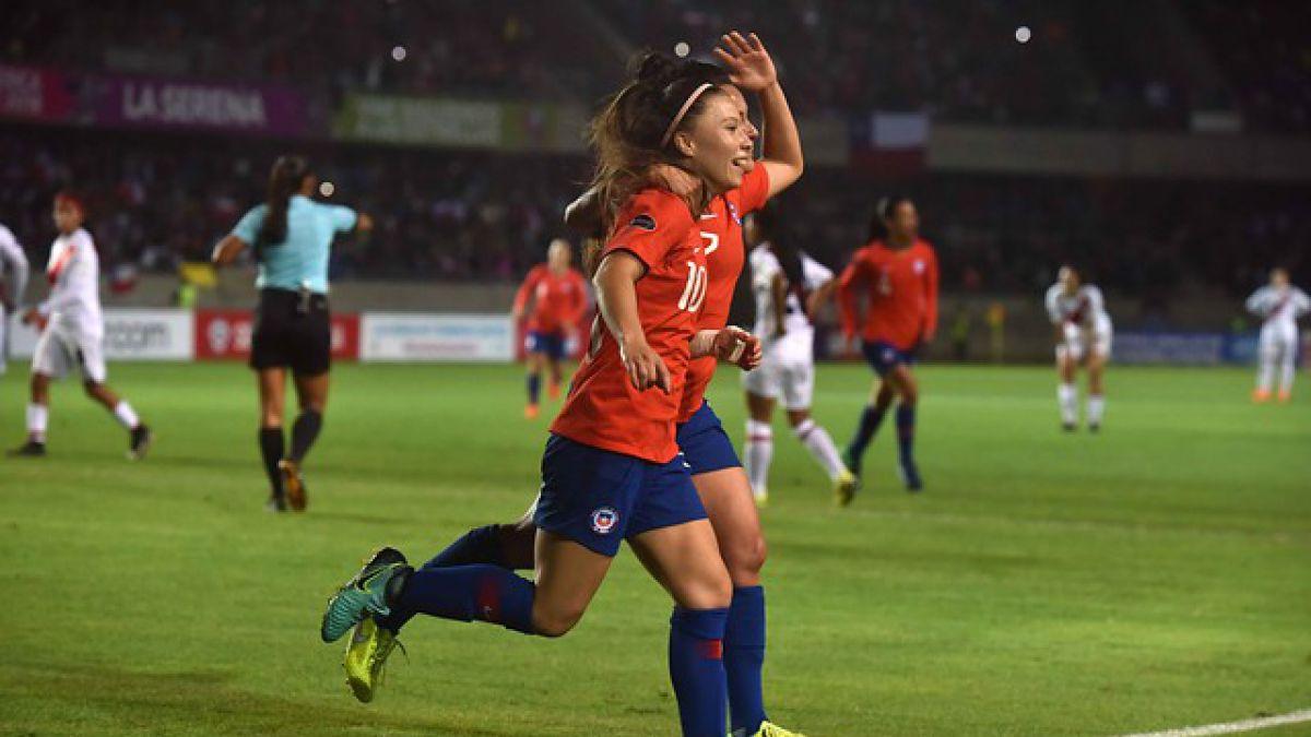 """""""La Roja"""" femenina comienza la etapa decisiva de la Copa América 2018"""