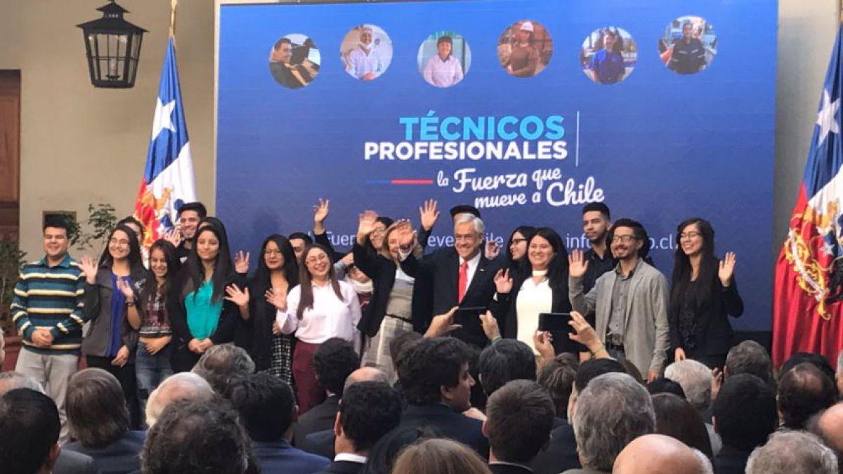 [VIDEO] Piñera asegura que no habrá lucro en educación superior