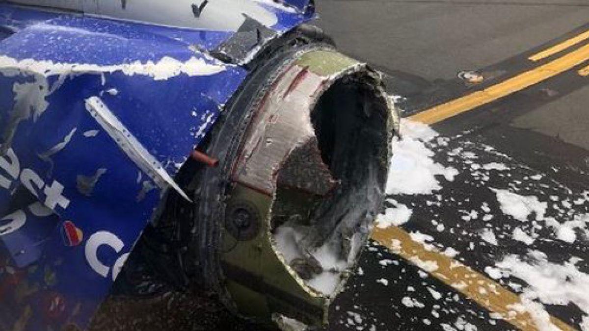 Resultado de imagen para succionado motor avion filadelfia