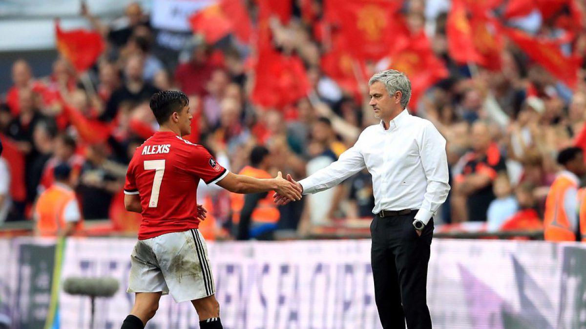 [VIDEO] José Mourinho respalda a Alexis: Es el jugador correcto para nosotros