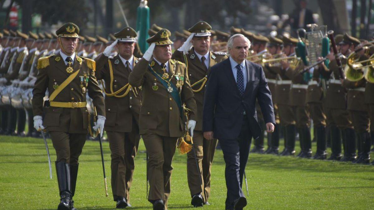 General Soto y sumario en Carabineros: