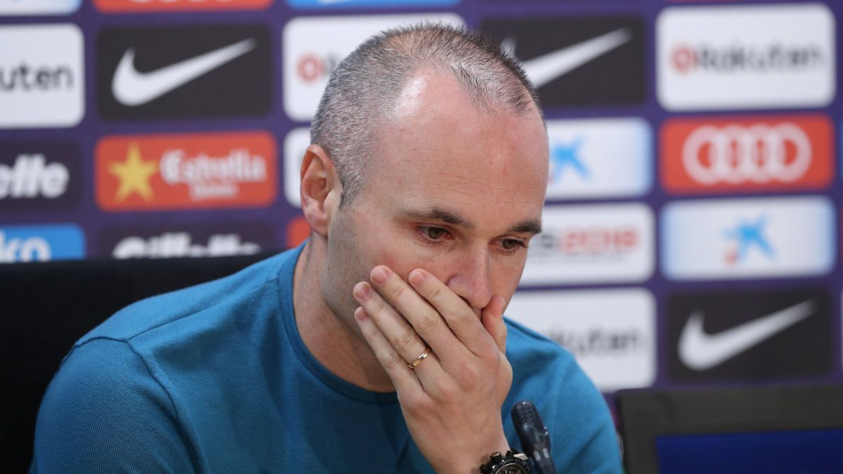 The emotional letter from Iniesta's wife after his departure from Barça