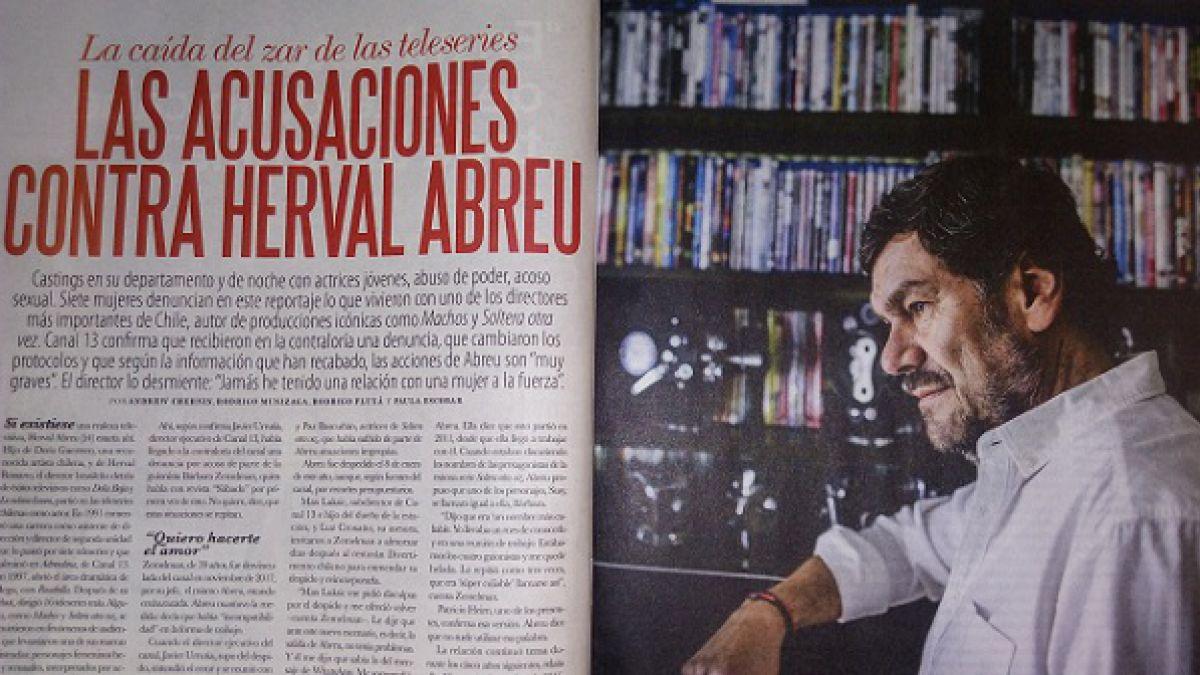 Herval Abreu y acusaciones de acoso sexual: