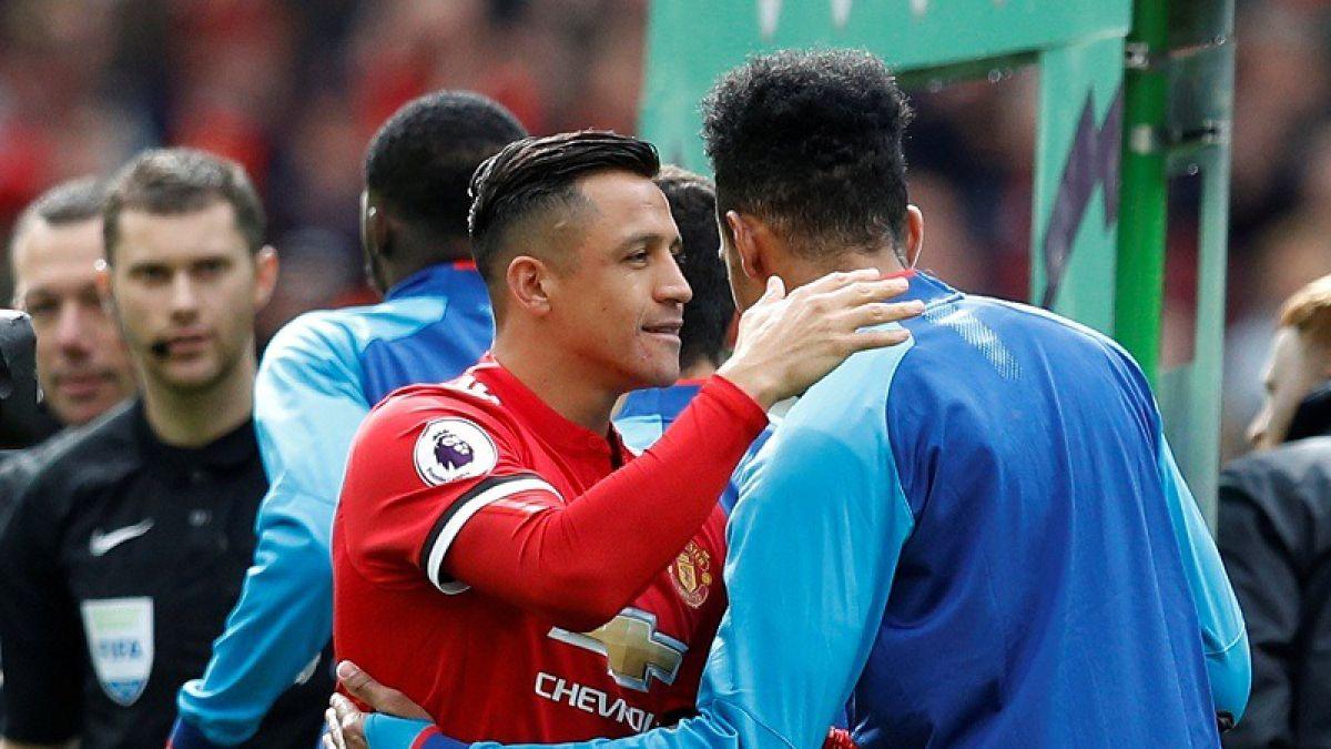 Así fue el afectuoso reencuentro entre Alexis Sánchez y Arsene Wenger