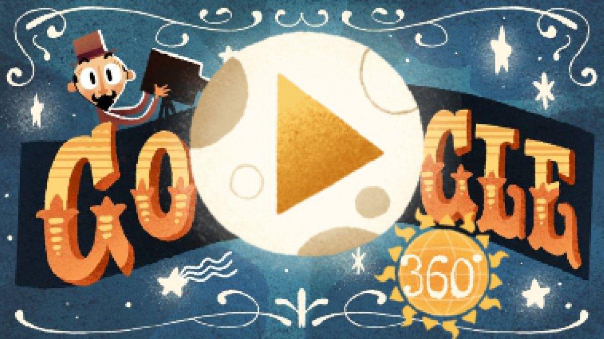 Georges Méliès, protagonista del primer Doodle de realidad virtual de Google