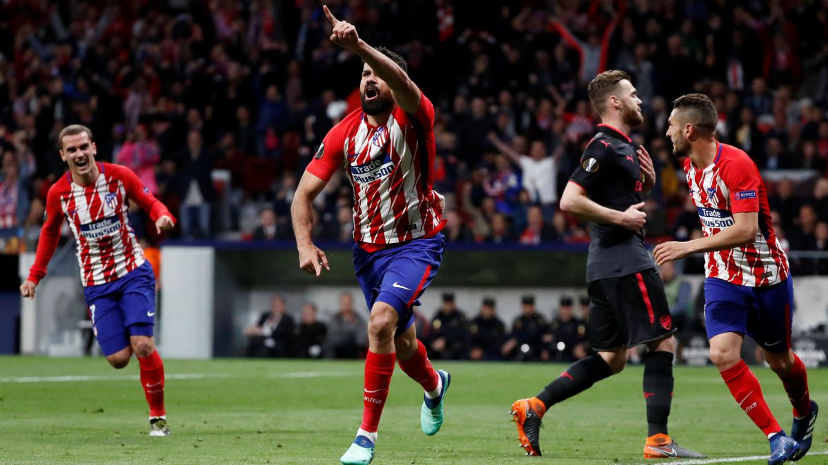 [VIDEO] Atlético de Madrid vence a Arsenal y clasifica a la final de Europa League