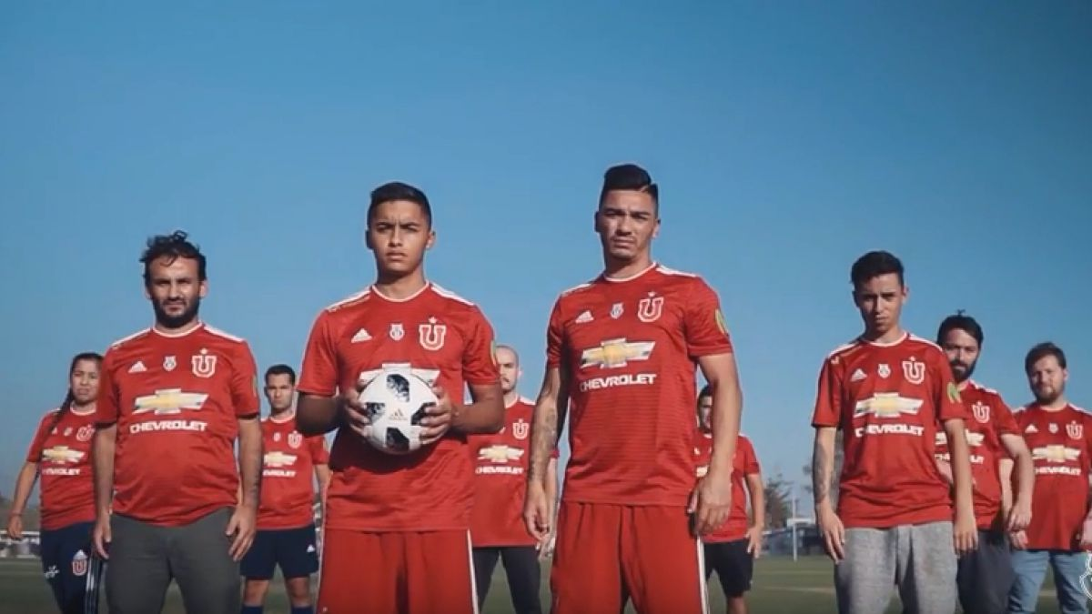 [VIDEO] El emotivo clip con que Universidad de Chile presenta su nueva camiseta
