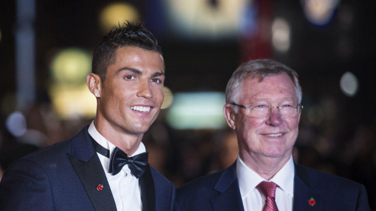 El sentido mensaje de Cristiano Ronaldo a Alex Ferguson tras su operación