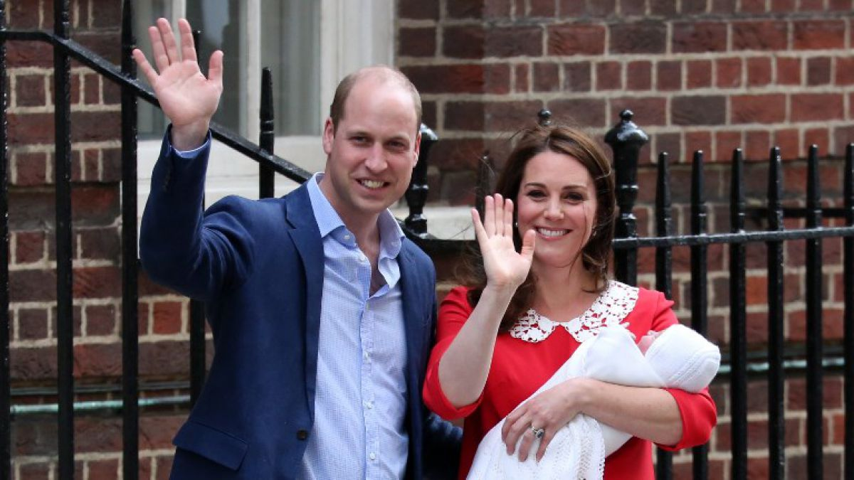 William y Kate comparten fotografías del príncipe Louis