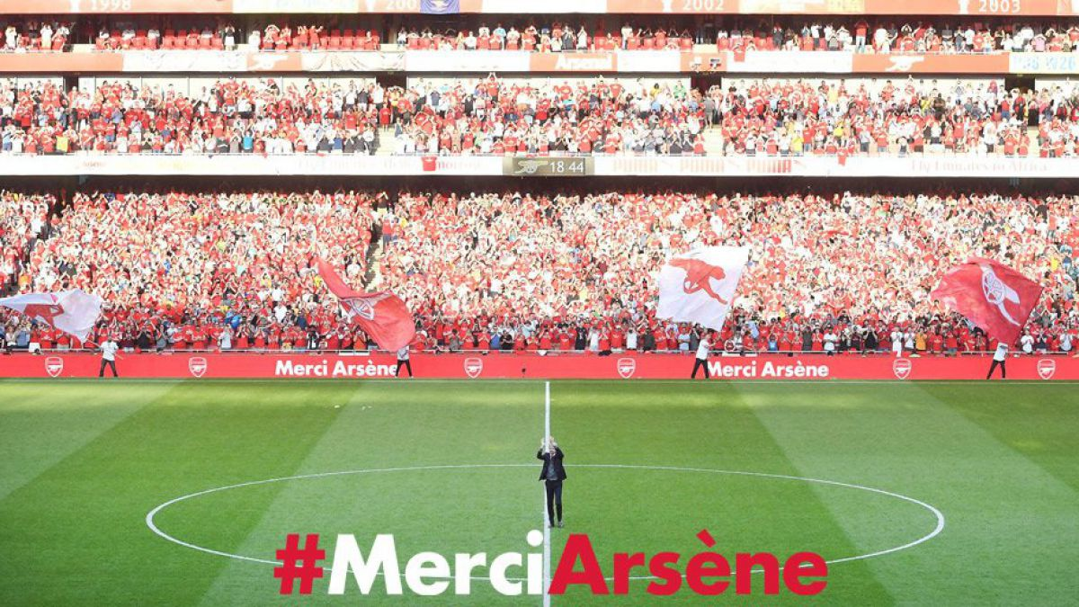 [VIDEO] Merci Arsene: La emotiva dedicatoria del Arsenal a Wenger en su adiós