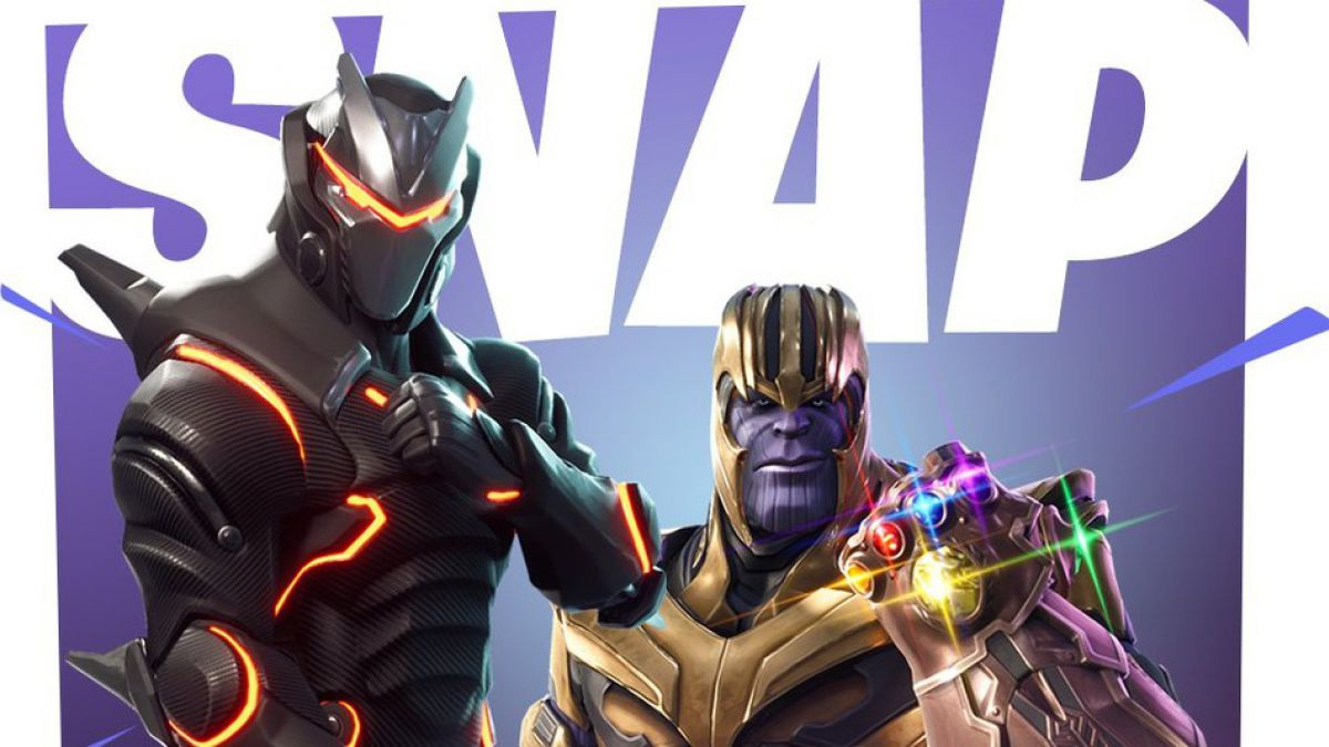 Thanos De Avengers Infinity War Llega A Fortnite Battle